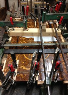 restauration marqueterie serres joints